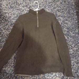 Reversible sweater cardigan